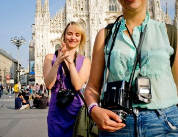 SACI MFA in Photography students in Milan