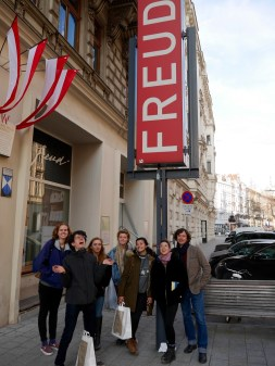 SACI students at the Freud Museum, Vienna