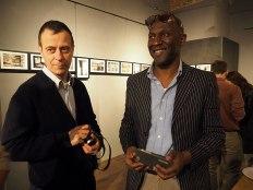 SACI Instructor, Romeo Di Loreto and SACI MFA in Photography student, Leon Jones