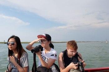 SACI photography students on the Venice Summer program