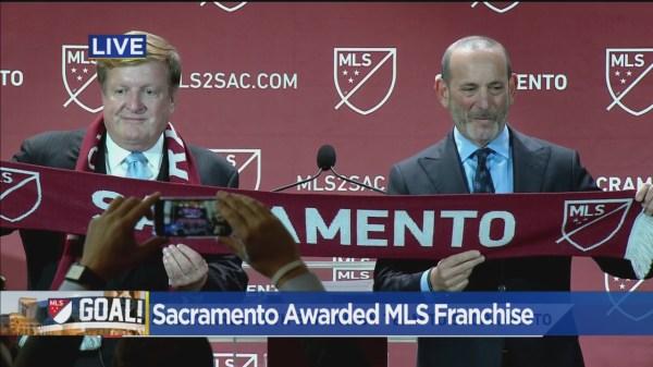 Sacramento Awarded Major League Soccer Expansion Team