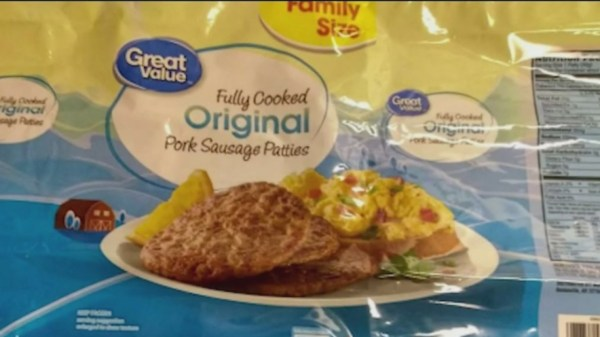 Over 6,000 Pounds Of Ready-To-Eat Sausage Patties Sold At Walmart Recalled