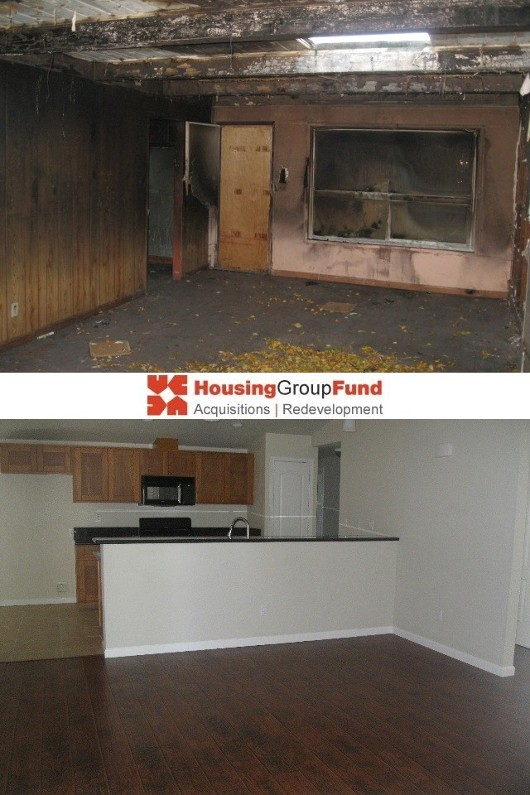 HGF - Before & After - Living Room