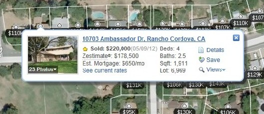 Zillow Sale 1 by Sacramento Appraisal Blog