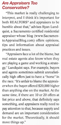 Article in California Real Estate Magazine