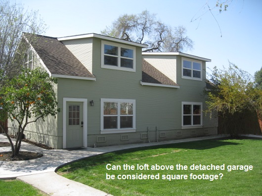 what can be considered square footage - by Sacramento Appraisal Blog