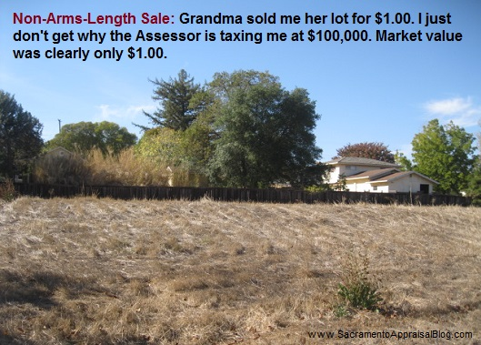 arms-length-sale definition by sacramento real estate appraiser blog