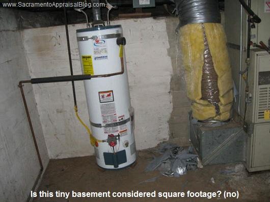tiny basement - sacramento appraisal blog