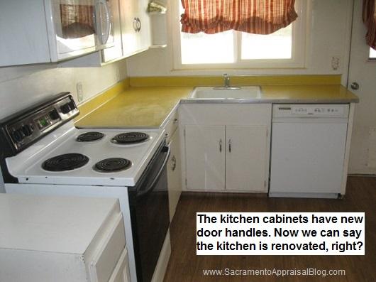 updated kitchen - sacramento appraisal blog