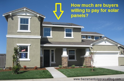 solar panels on house - by sacramento appraisal blog