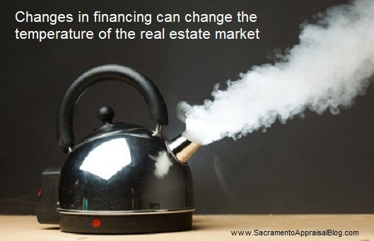 financing changes in real estate - by sacramento appraisal blog - image purchased and used with permission