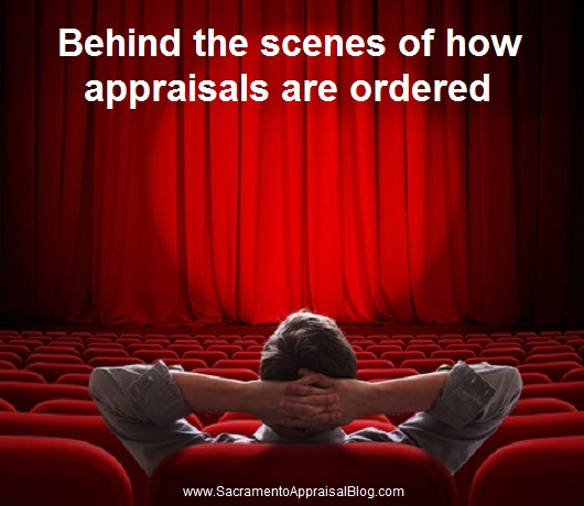 how appraisals are ordered - by sacramento appraisal blog - image purchased and used with permission from 123rf