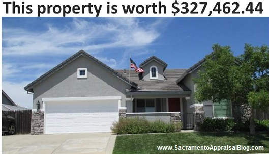 range of value in real estate - image by sacramento appraisal blog