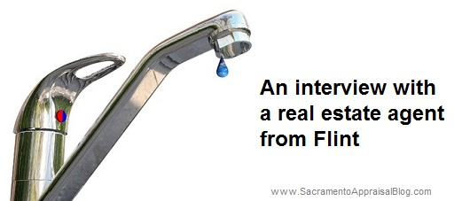 Flint real estate agent interview - by sacramento appraisal blog - image purchased from 123rf and used with permission
