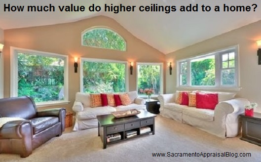 high ceilings in real estate - sacramento appraisal blog