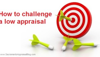 How to challenge a low appraisal (a format to use)