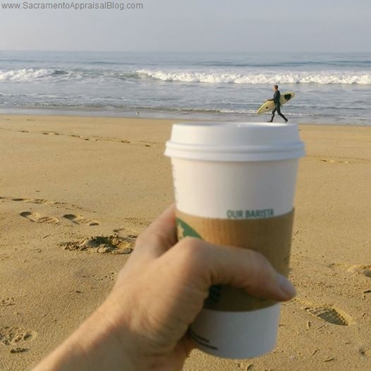 surfer on my cup - photo by ryan lundquist
