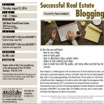 real estate bloggin