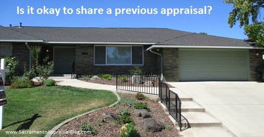 Sacramento Appraisal Blog- sharing a previous appraisal