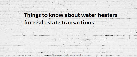 Things to know about water heaters during real estate transactions does it matter if its gas or electric or if its located in the garage or house heres some things to know anything to add solutioingenieria Choice Image