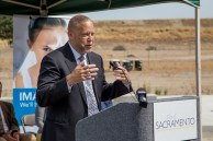 Regional President of Kaiser Permanente, Gregory Adams, talks about the 18 acres purchased by Kaiser Permanente.