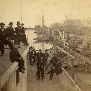 Old Sacramento Waterfront 1880
