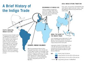 A Brief History of the Indigo Trade Map