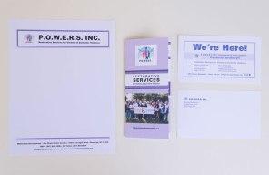 Various P.O.W.E.R.S. Inc. Print Materials