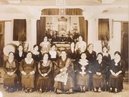 Founding of Nichiren Buddhist Church Women's Club. Undated, but before 1936.