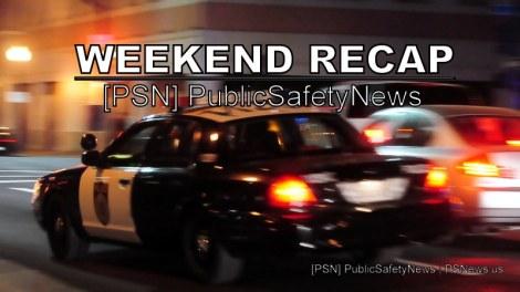 Public Safety Weekend Recap, Jan. 17-20, 2014