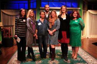 The team who makes it happen. (L-R) Krista Minard, Kristen Wetzel, Crystal Linnet, Ryan Cicak, Hilary Brugger, Kneece Sasser