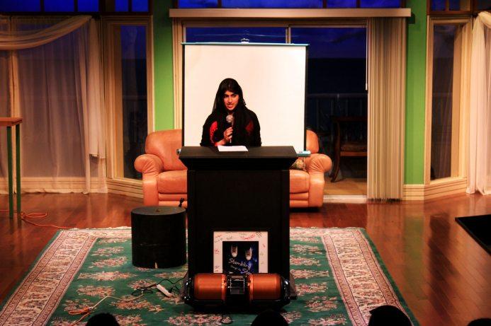 Raheela Hayat reads Searching for My Voice