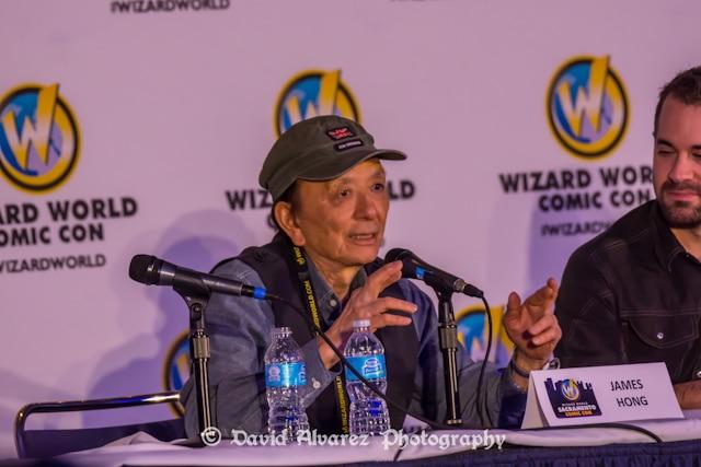 Wizard World Sacramento Comic Con 2014, James Hong