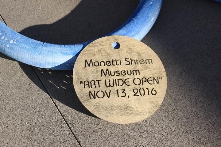 "Manetti Shrem Museum ""Ribbon"""