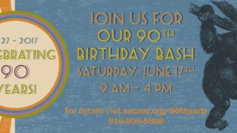 Sacramento Zoo 90th Birthday Bash