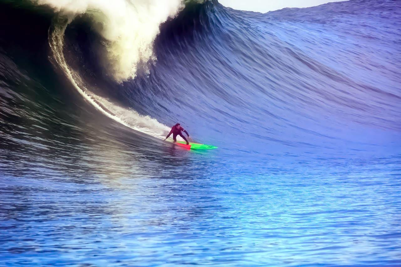 Mavericks Non-Contest Surf