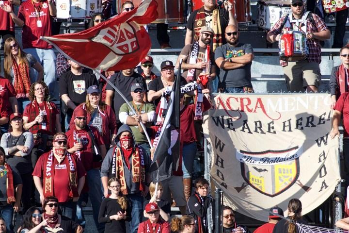 Sacramento's Fifth USL Season Kicked Off Sunday Versus Los Angeles FC [Photos]