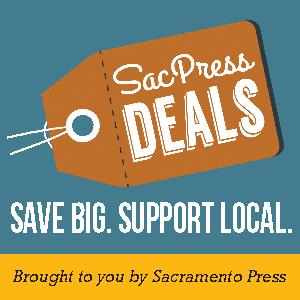 SacPress Deals Frontpage Ad - Sacramento Press
