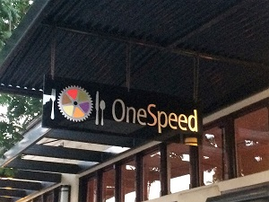 One Speed Sign