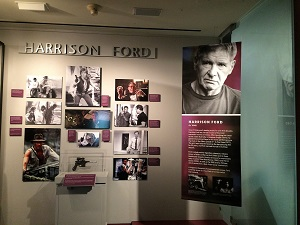 Harrison Ford California Hall of Fame Exhibit
