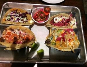 Tacos from El Rey
