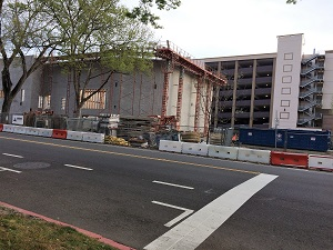 Picture of B Street Construction Site