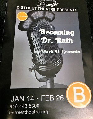Becoming Dr. Ruth Playbill