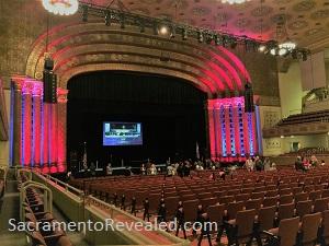 Photo of Memorial Auditorium Stage