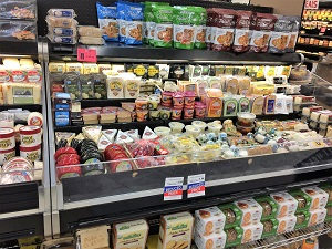 Picture of Compton's Market Cheese Display