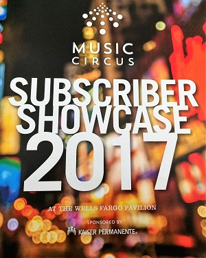 Picture of Music Circus Subscriber Showcase Program