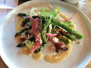 Picture of Revolution Wines Asparagus Salad