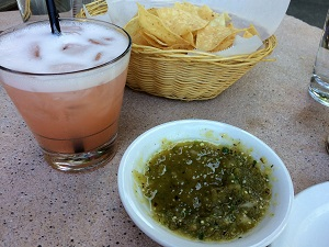 Picture of Centro Happy Hour Fruit Infused Margarita with Chips & Salas