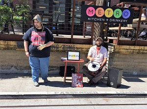 Picture of buskers at Sacramento's Arts & Culture Event