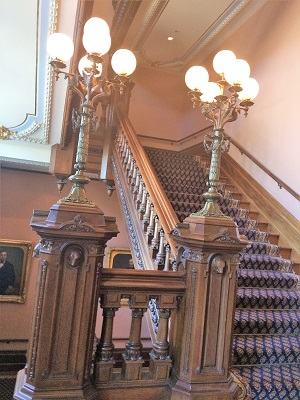 Picture of California State Capitol Building Staircase